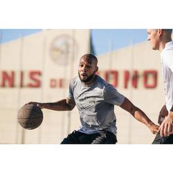 Basketballtrikot TS500 Herren hellgrau Shoot