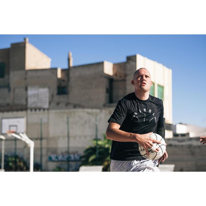 Basketballtrikot TS500 Herren schwarz BSKBL