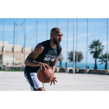 Ballon de basket BT500 taille 7 Marron Fiba garçon et homme à partir de 13 ans.