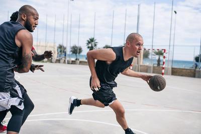 כדורסל BT500 מידת מבוגרים 7 - כדור עם אחיזה מעולה חום