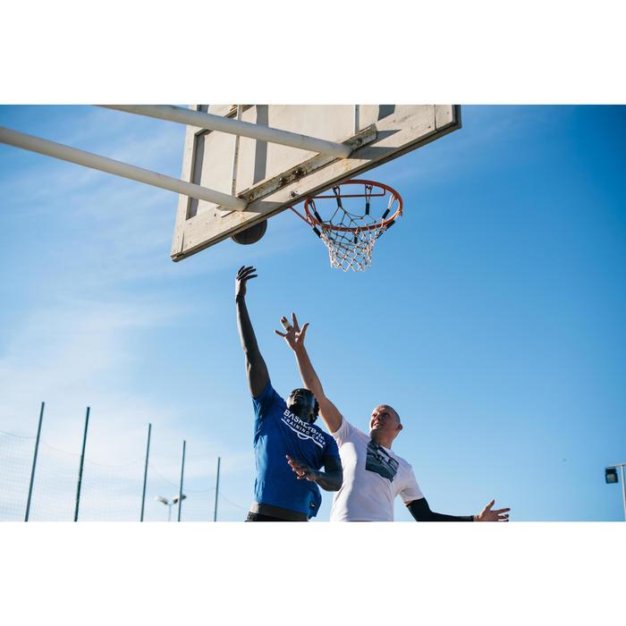 Basketballtrikot TS500 Herren weiß Foto