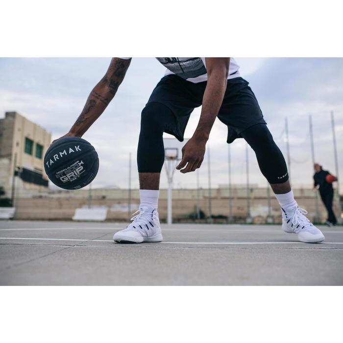 Balón Baloncesto Tarmak BT500 Grip Talla 7 Negro