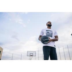 Basketbalshirt TS500 wit foto (heren)