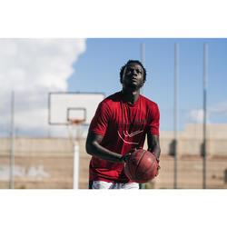 Maillot de basket TS500 Homme Rouge Shoot