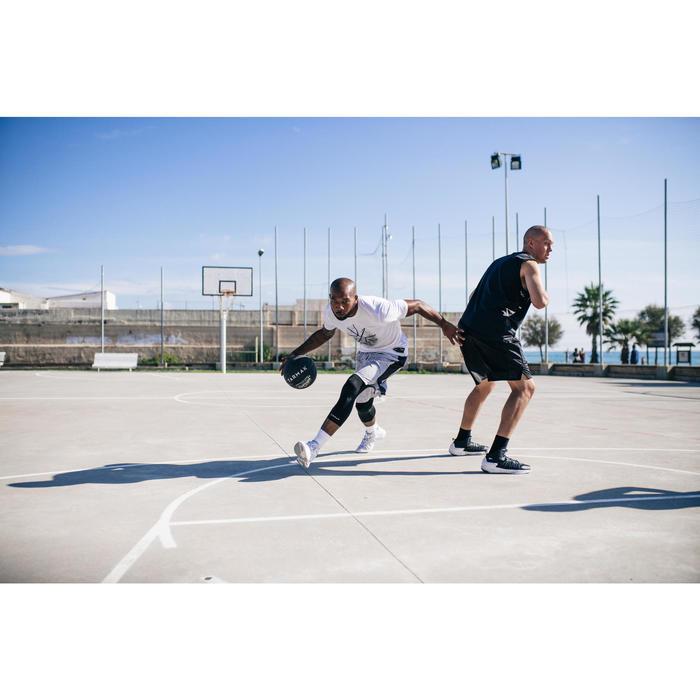 Basketbal BT500 zwart (maat 7, extra grip)