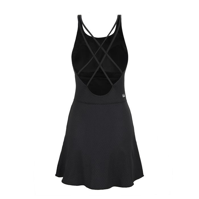 女款連身裙泳裝Riana + 黑色