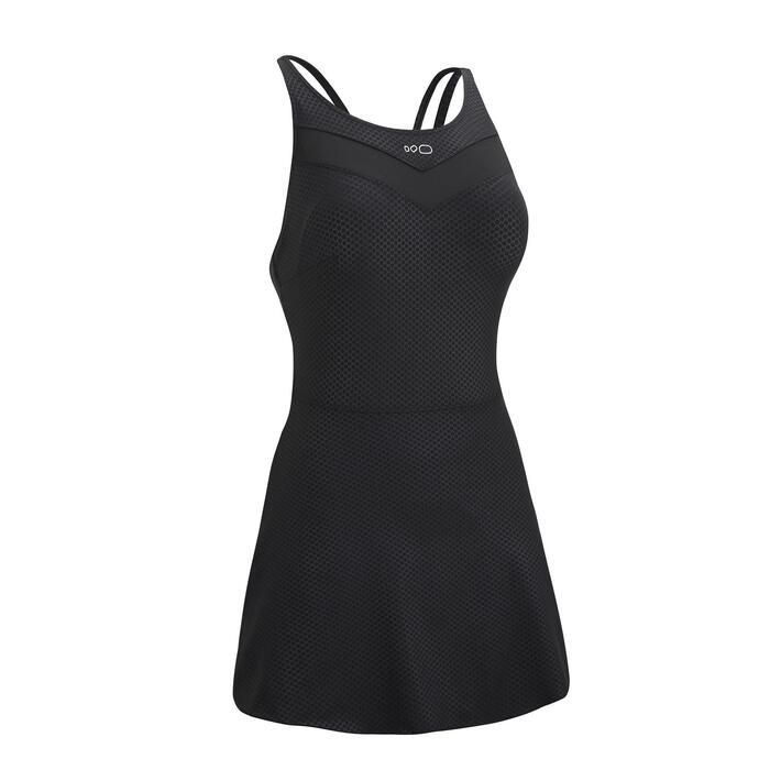 Women's One-Piece Swimsuit Riana + Black