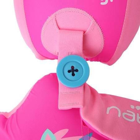 Flotador Cinturón Natación Nabaiji Rosa Estampado Unicornio 15 a 30 kg