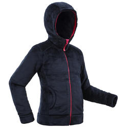 SH100 Warm Child's Snow Hiking Fleece Jacket -Blue