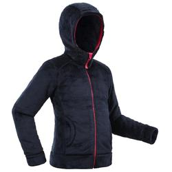 SH100 Junior Warm Snow Hiking Fleece - Blue