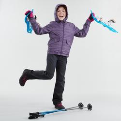 SH500 Warm Kids' Hiking Boots - Pink