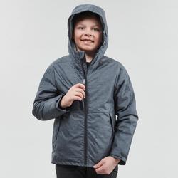 Winterjas jongens SH100 Warm 8-14 jaar grijs