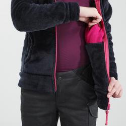 Polaire de randonnée enfant SH100 chaude bleue 7-15 ans