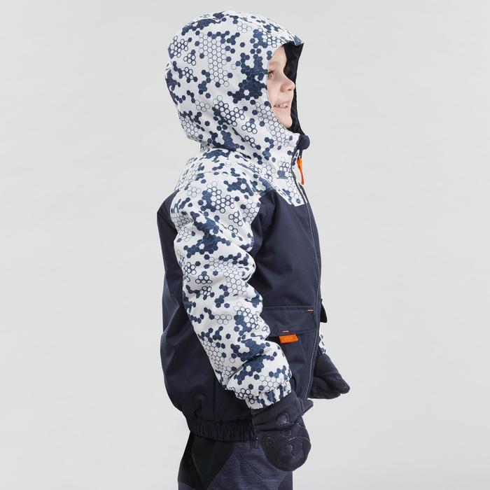 Warme waterdichte wandeljas voor de sneeuw jongens SH100 Warm 2-6 jaar blauw