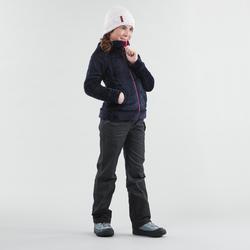 Polaire de randonnée neige junior SH100 chaude bleue