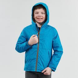 Winterjas jongens SH100 Warm 8-14 jaar blauw