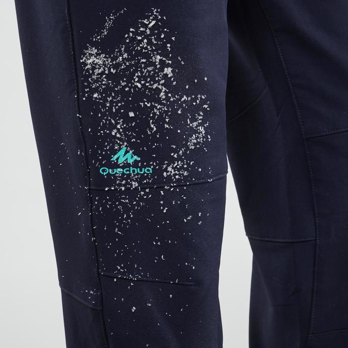Softshellhose SH500 X-Warm Wasserabweisend Kinder Gr. 122–170 blau
