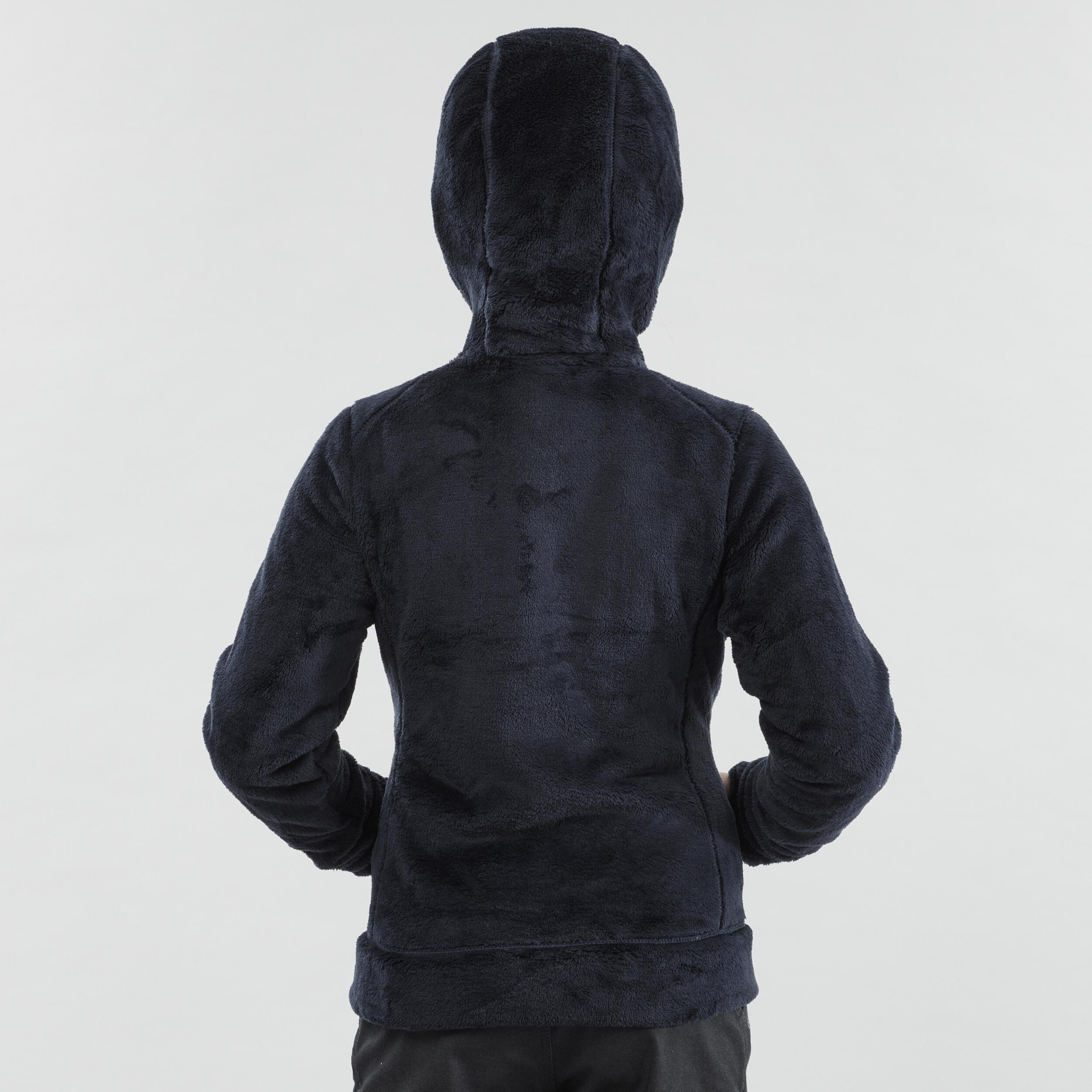 Neige Warm Bleue Polaire Randonnée Sh100 De Junior TFl1cKJ