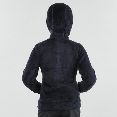 Kids' 7-15 Years Hiking Fleece SH100 Warm - Blue