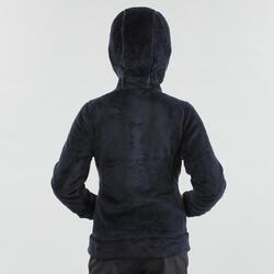 Polaire de randonnée enfant SH100 warm bleue 7-15 ans