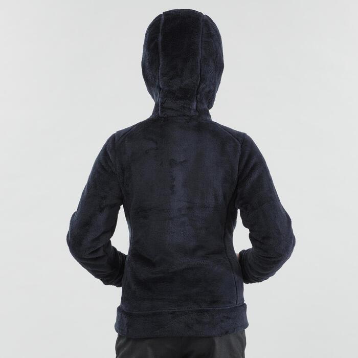 Warm fleece vest voor wandelen kinderen SH100 blauw 7-15 jaar