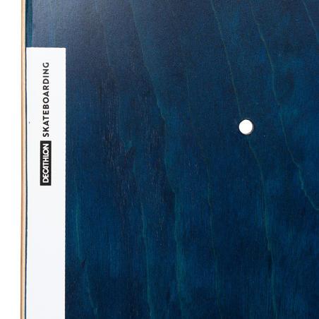 "Deck 120 Skateboarding Deck Size 8.25"" - Blue"