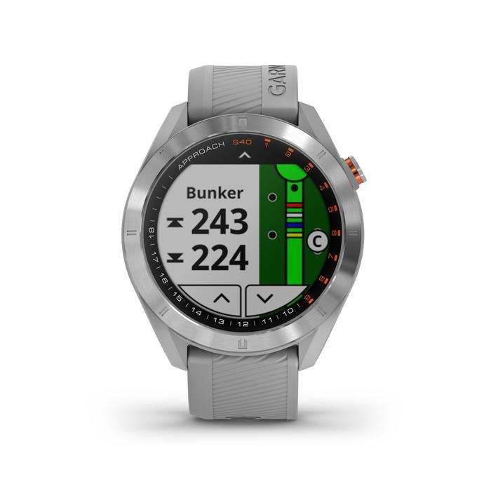 GPS-GOLFHORLOGE APPROACH S40 GRIJS
