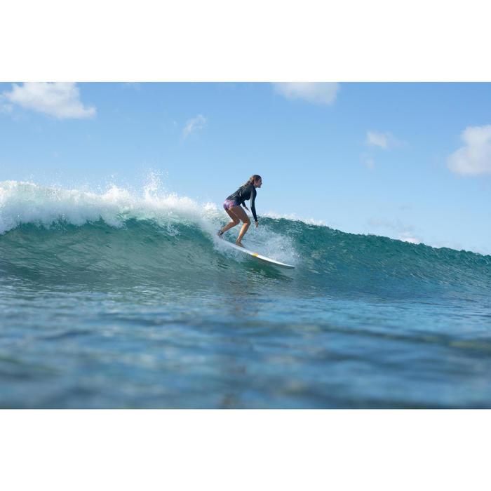 Women's Long Sleeve UV-resistant Surfing T-Shirt black