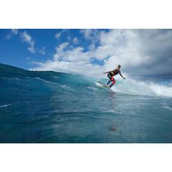LEGGING SURF ANTI UV 500 FEMME F ROSE ET NOIR