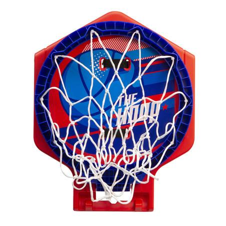 Hoop 500 Kids'/Adult Basketball Hoop - Biru / Merah Dapat Dipindahkan.