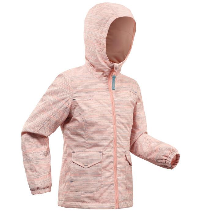 código promocional 3c876 9f069 Chaqueta cálida de senderismo nieve SH100 WARM niña 2-6 años rosa