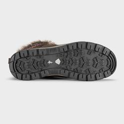 Chaussures chaudes imperméables de randonnée neige - SH500 X-WARM - Mid Femme