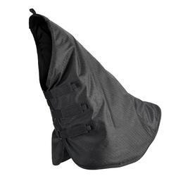 Couvre-cou équitation cheval ALLWEATHER 200 noir