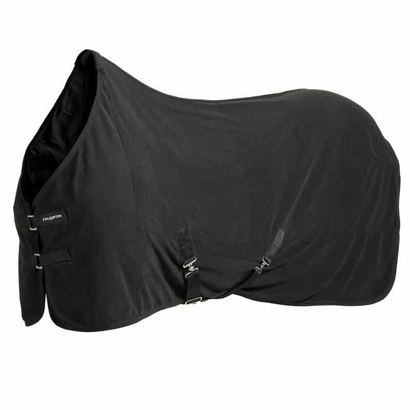 - Polar Basic Horse Riding Stable Sheet for Horse and Pony - Black