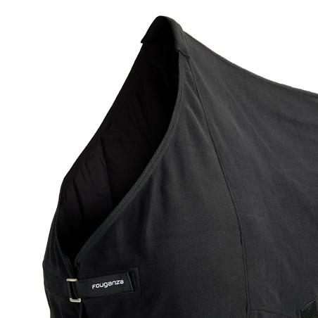 Polar Basic Horseback Riding Stable Sheet for Horse and Pony - Black