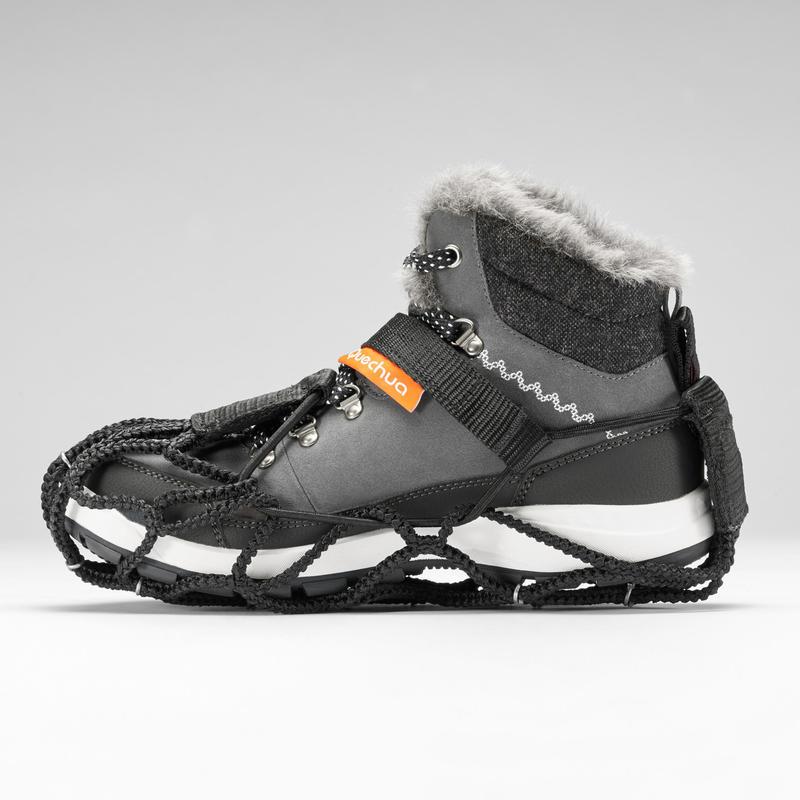 หนามรองเท้ากันลื่นสำหรับเดินป่าท่ามกลางหิมะรุ่น SH500 (สีดำ)