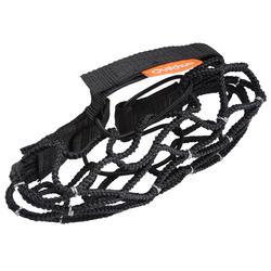 Anti-glisse de randonnée neige - SH500 - Cordelette Noir