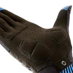 Fahrrad-Handschuhe MTB ST 500 schwarz/blau