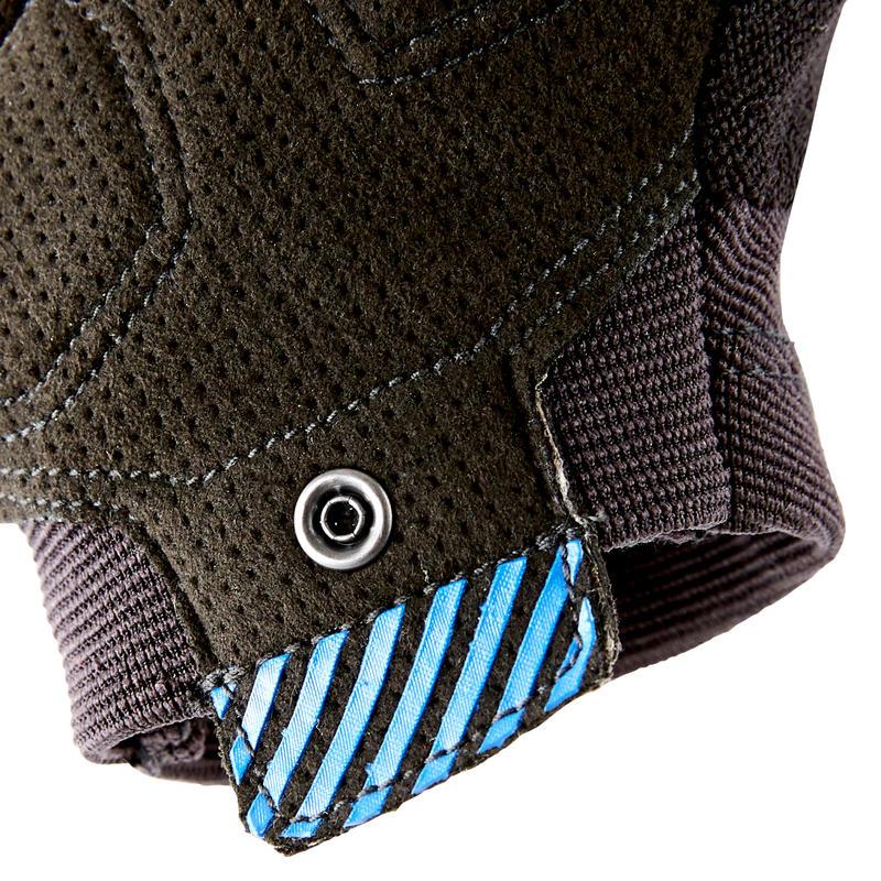 ST 500 Mountain Biking Gloves - Black/Blue