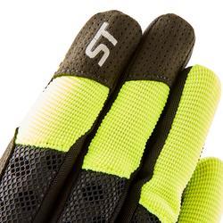 Fahrrad-Handschuhe MTB ST 500 gelb