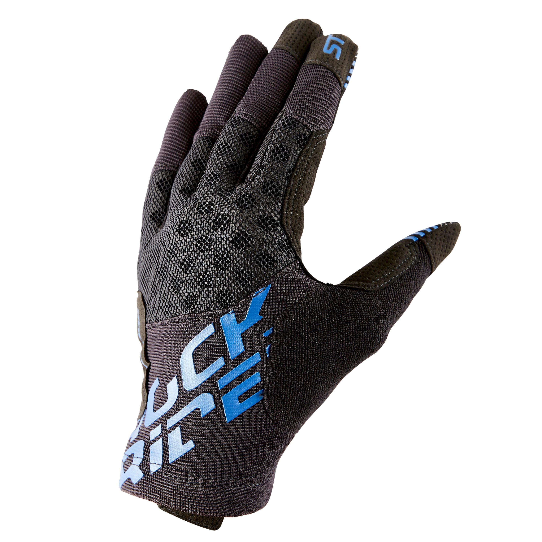 Rockrider MTB-handschoenen 500 zwart/blw kopen