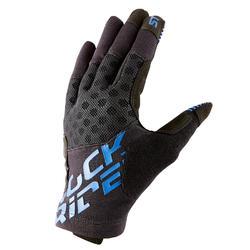 登山車手套ST 500 - 黑色/藍色