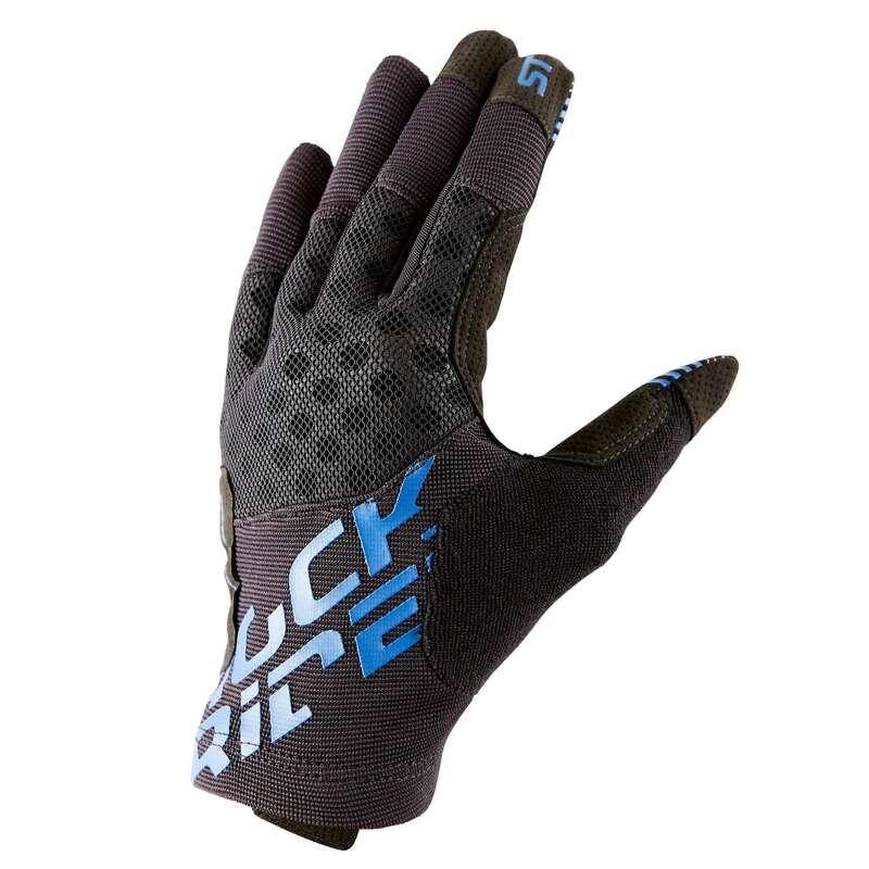 WARM WEATHER BEGINNER ST MTB GLOVES Cycling - ST 500 Mountain Bike Gloves ROCKRIDER - Clothing
