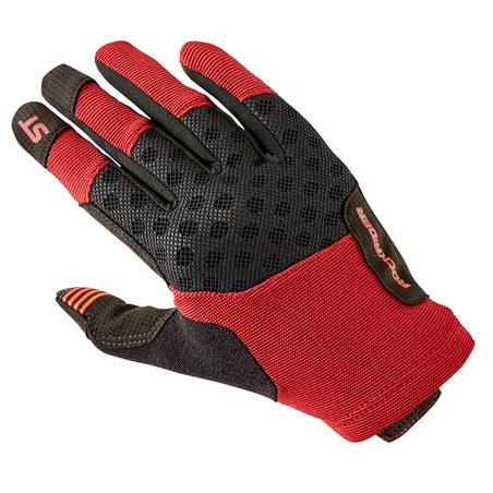 ST 500 Mountain Bike Gloves - Red