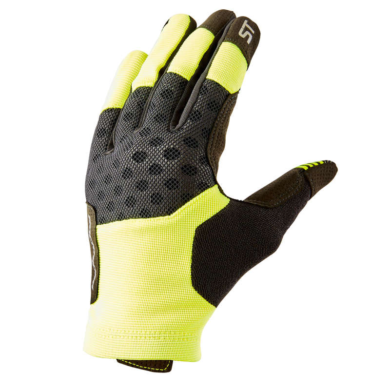 WARM WEATHER BEGINNER ST MTB GLOVES Cycling - ST 500 Mountain Biking Gloves ROCKRIDER - Clothing