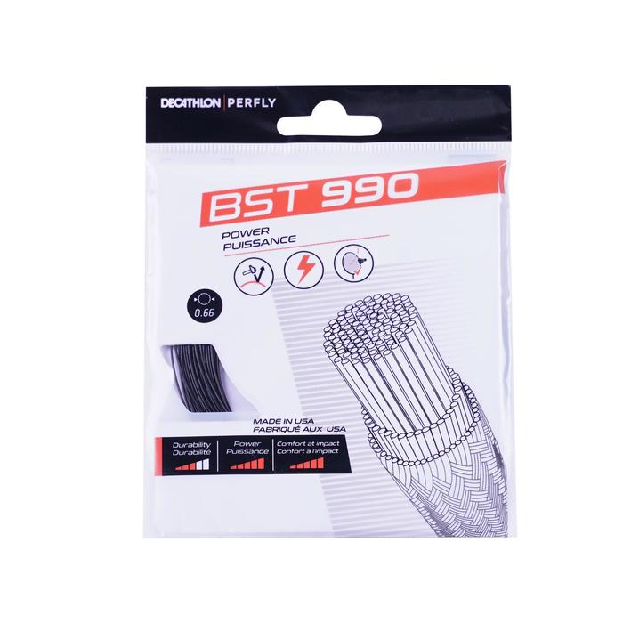 Badmintonsnaren BST 990 zwart