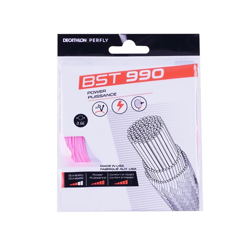 BADMINTON STRING BST 990 PINK