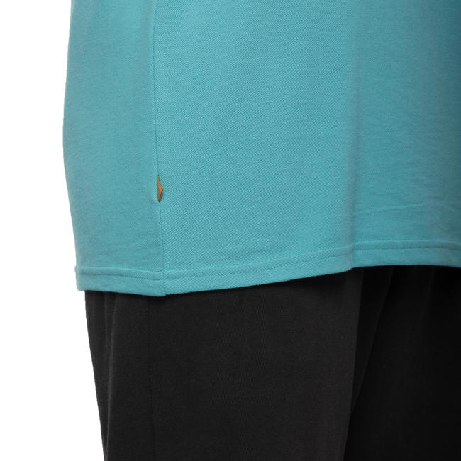 Mens Golf Polo T-Shirt 500 Turquoise
