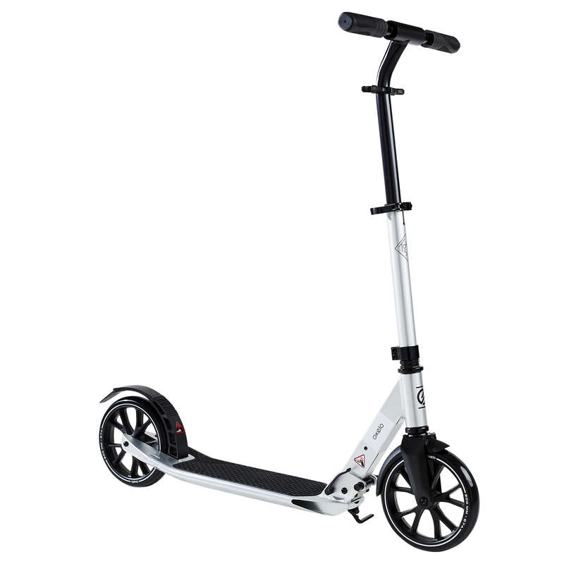 City-Scooter City-Roller und Scooter - City-Roller Town 5 XL grau OXELO - City Roller