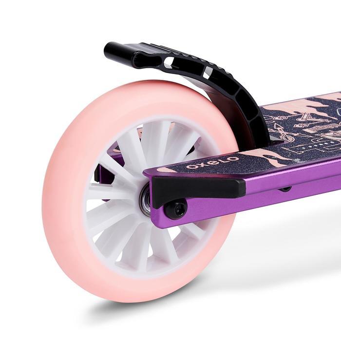 Kinder-Roller Scooter MID5 mit Federung und Lenkerbremse mit Indianermotiv